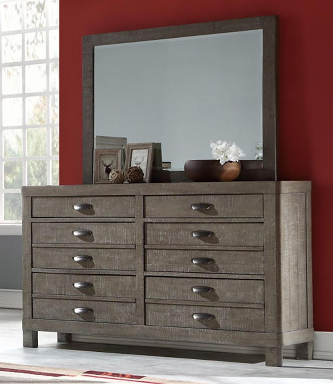 Austin Group Townsend 751 Dr M Dresser With Hidden Jewelry Drawer