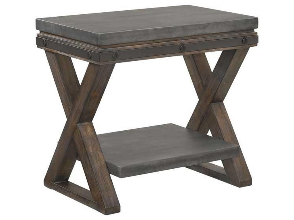 Austin Group ForgeAccent Nightstand