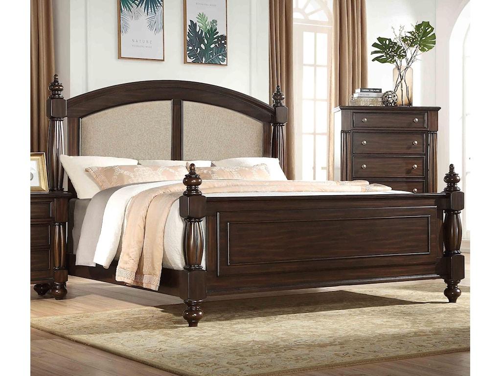 Austin Group HarrisonUpholstered King Bed