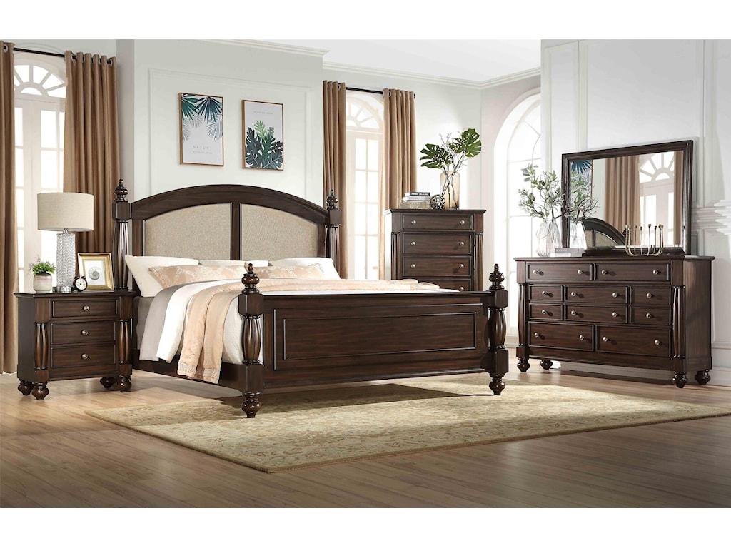 Austin Group HarrisonKing Bedroom Suite