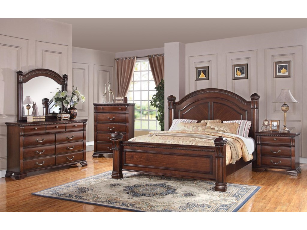 Austin Group IsabellaKing Bed