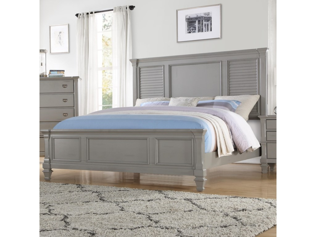 Seabrook King Bed by Austin Group at Royal Furniture