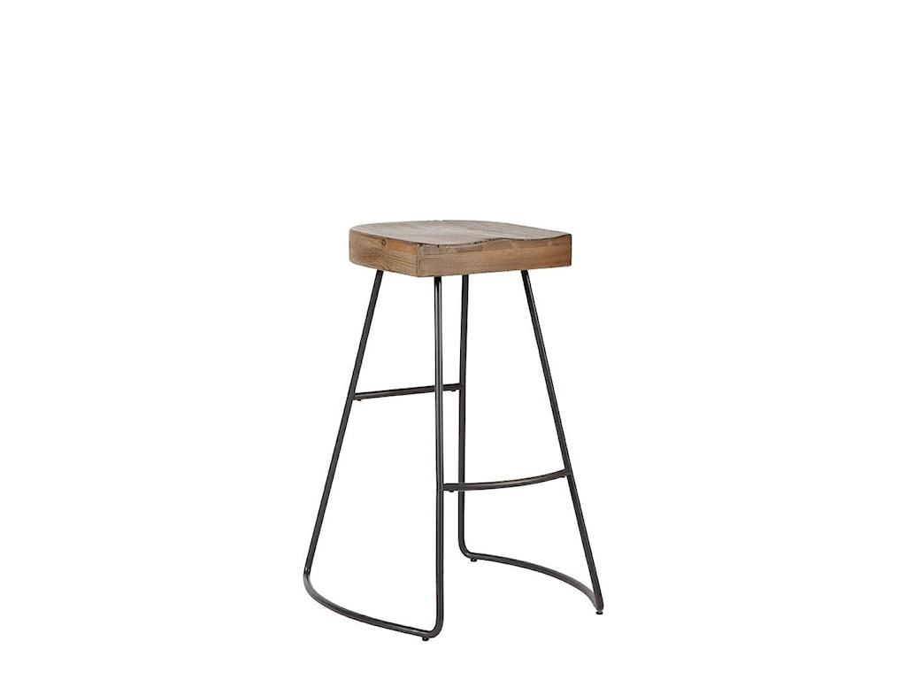 Avalon Furniture BarstoolsSaddle Seat Barstool