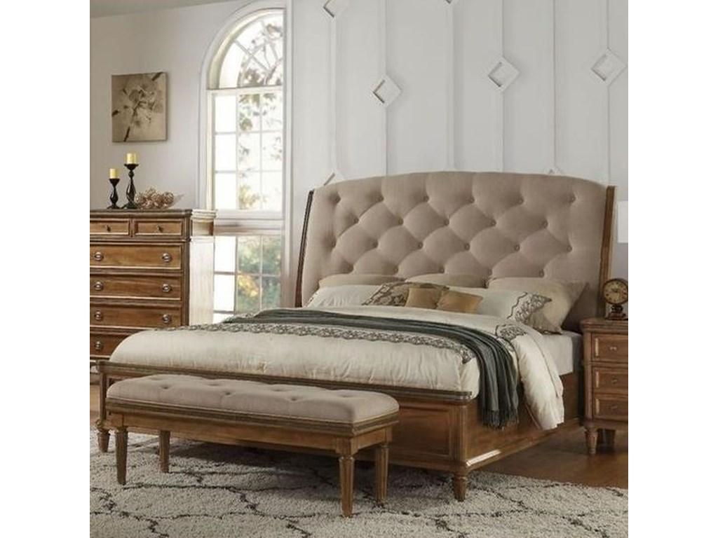 Avalon Furniture AscotKing Sleigh Bed