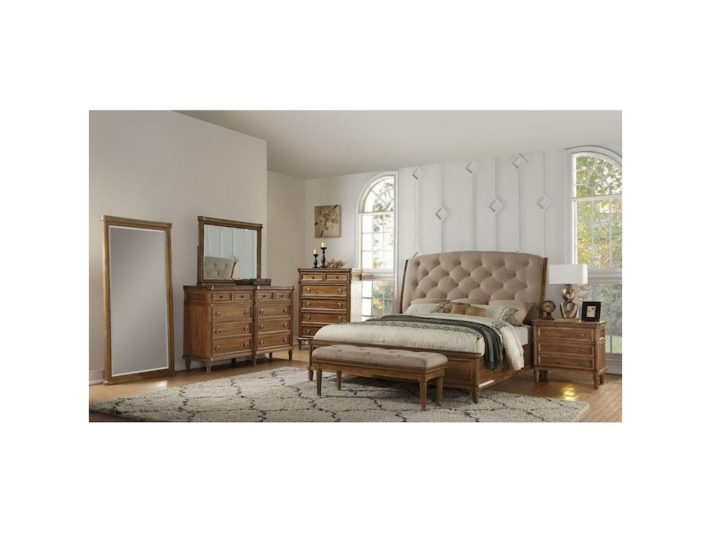 Avalon Furniture AscotQueen Bedroom Group