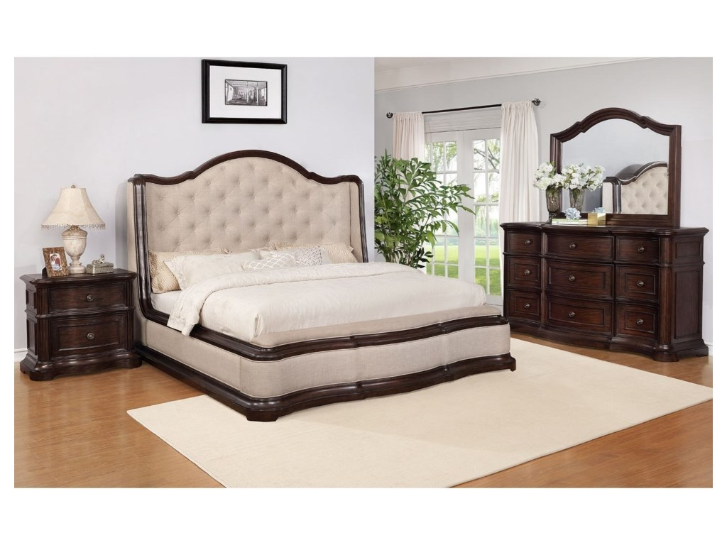 Avalon Furniture B00169Queen Bedroom Group