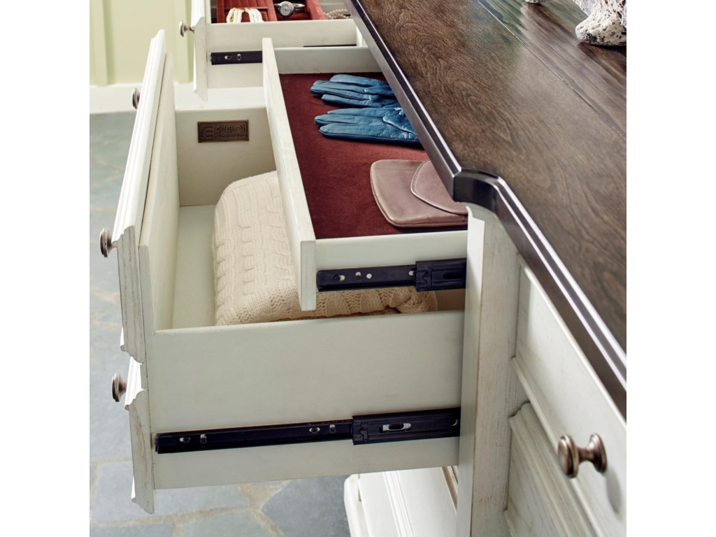 Avalon Furniture Mystic CayDresser