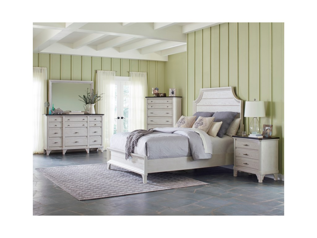 Avalon Furniture Mystic CayKing Bedroom Group