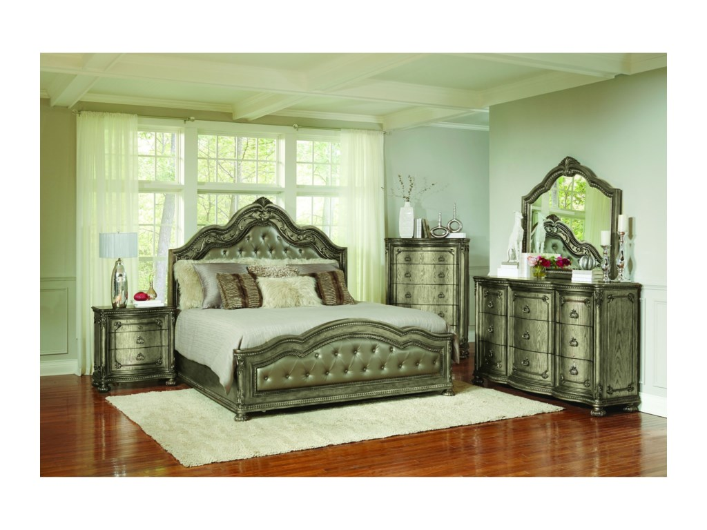 Avalon Furniture B02011Queen Bedroom Group