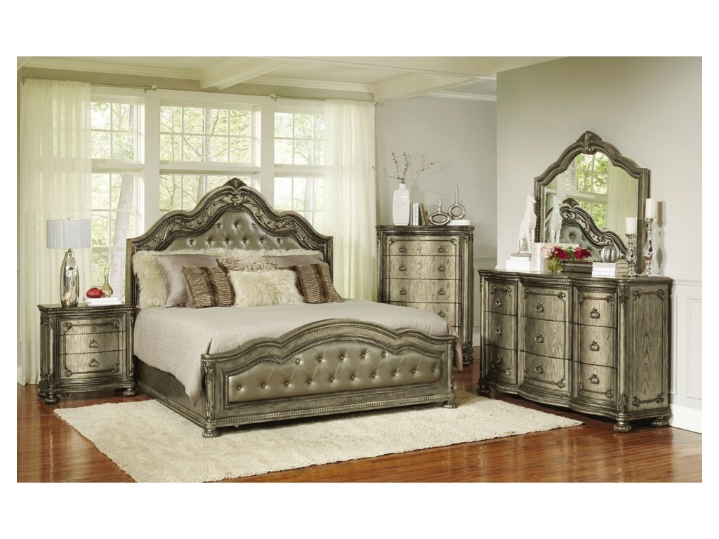 Avalon Furniture SevilleQueen Bedroom Group