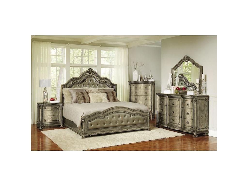Avalon SevilleGlamorous King Bed