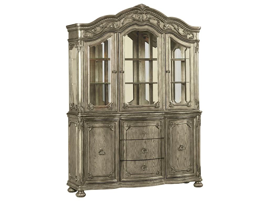 Avalon Furniture SevilleLarge China Cabinet
