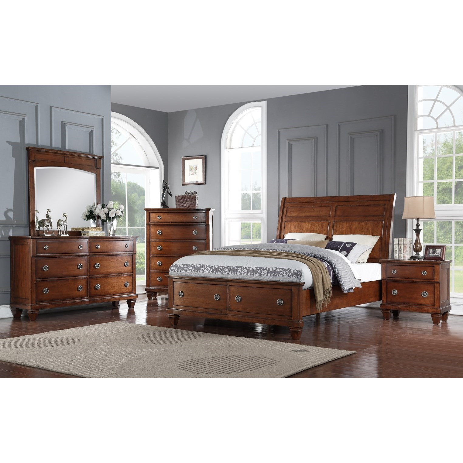 Avalon Furniture B068Queen Bedroom Group