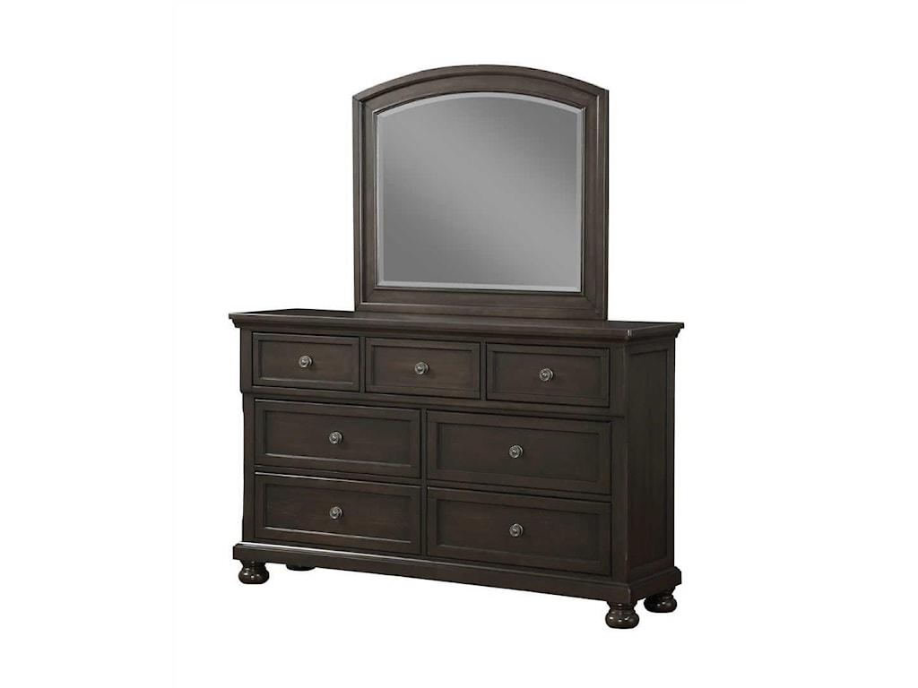 Avalon Furniture SoriahDresser & Mirror