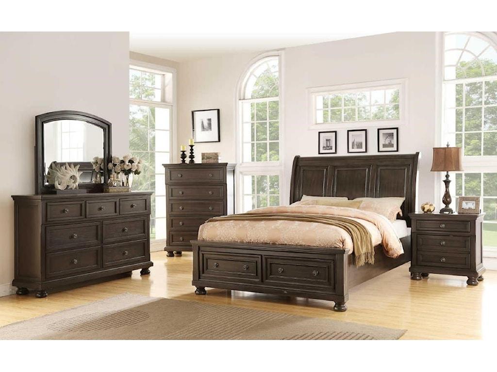 Avalon Furniture SoriahKing Storage Bed