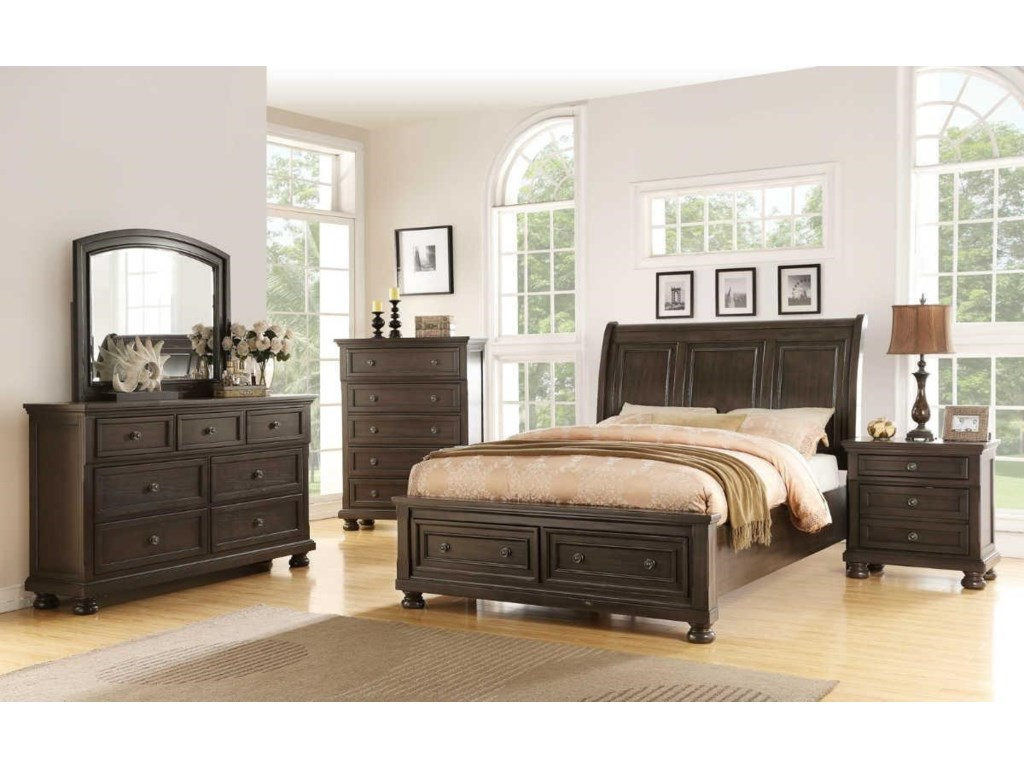 Avalon Furniture SoriahQueen Storage Bed