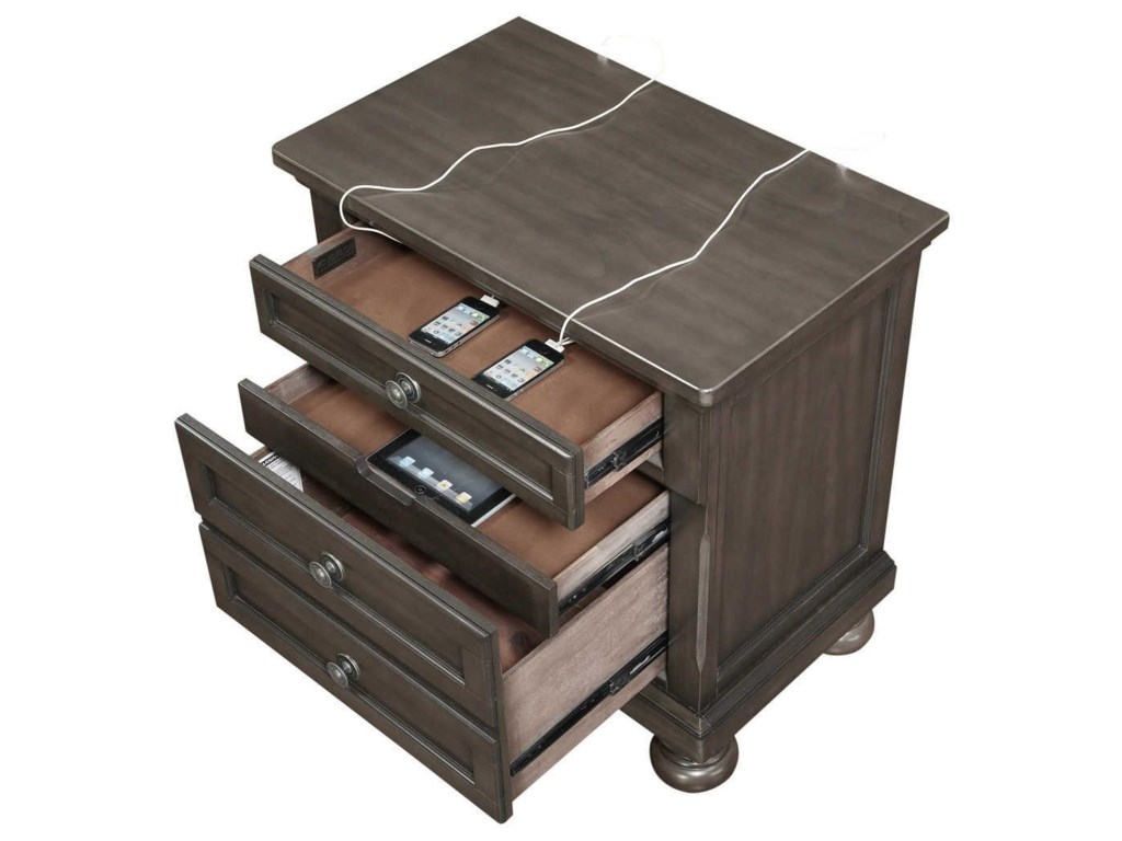 Avalon Furniture SoriahQueen Storage Bedroom Group