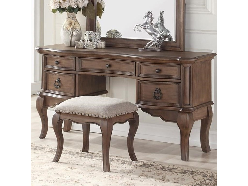 Avalon Furniture TulsaVanity Desk