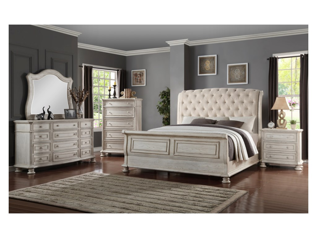 Avalon Furniture Barton CreekKing Bedroom Group