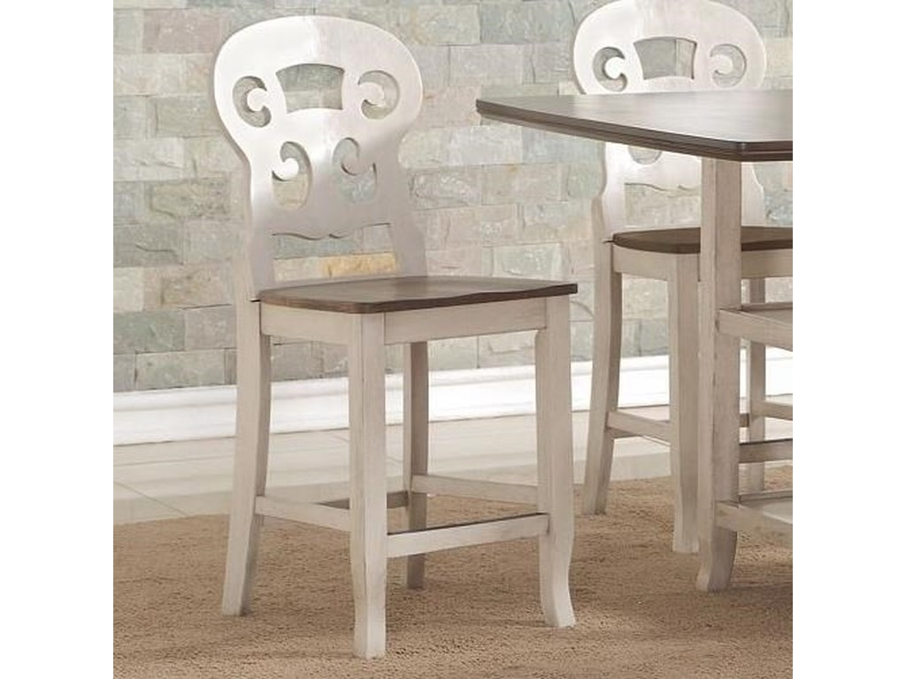Avalon Furniture CameoCounter Height Chair