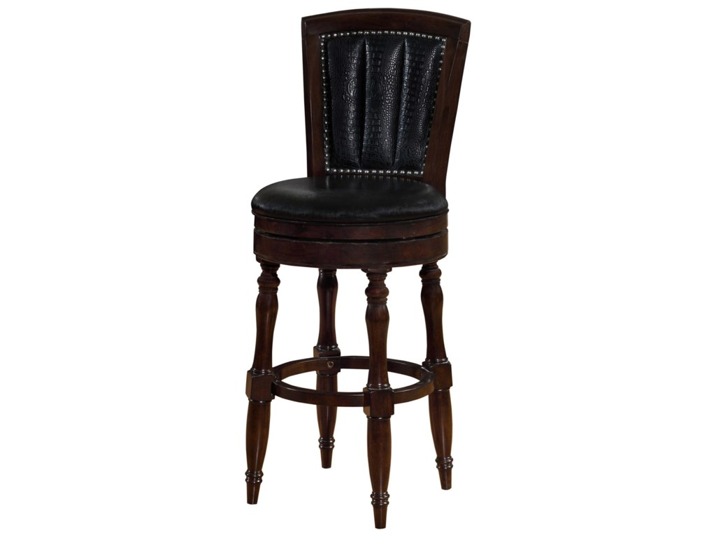 Avalon Furniture Dundee PlaceBar Stool with Upholstered Seat
