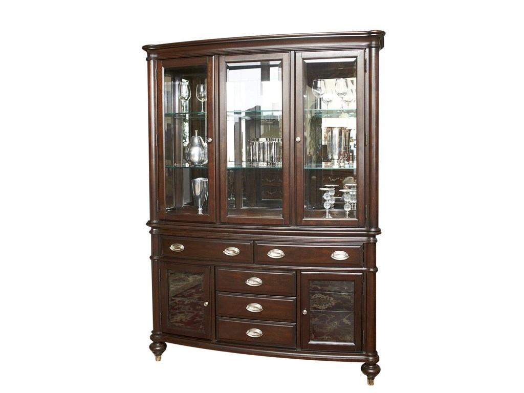 Avalon Furniture Dundee PlaceChina Cabinet