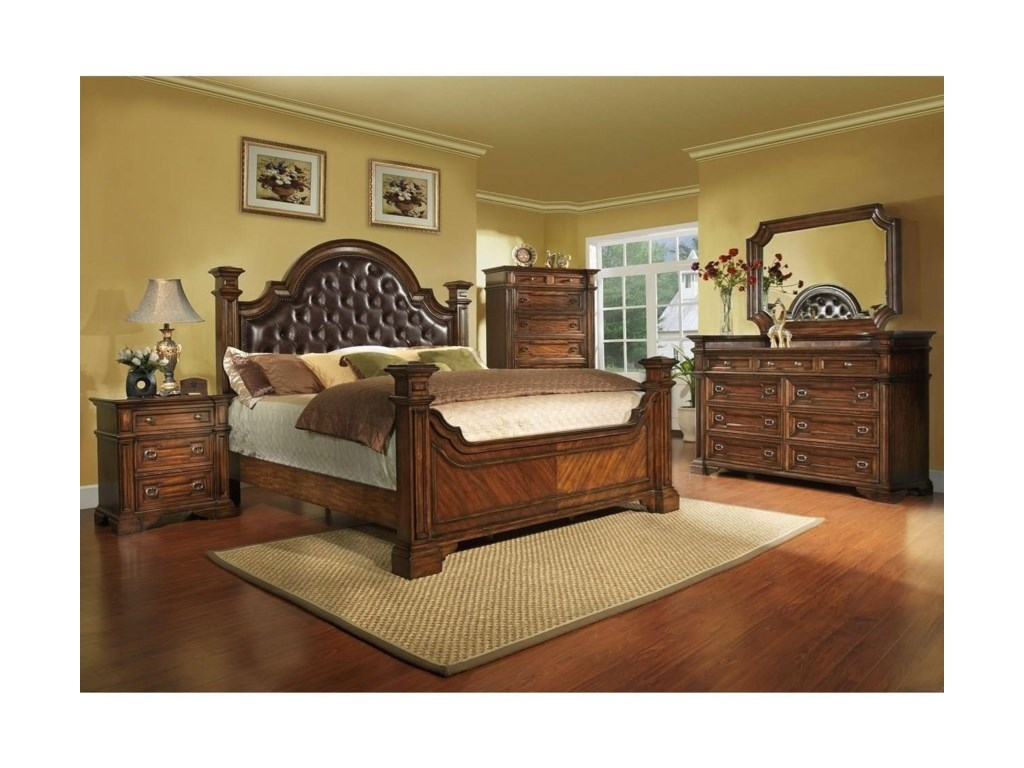 Avalon Furniture Highland RidgeQueen Upholstered Bed