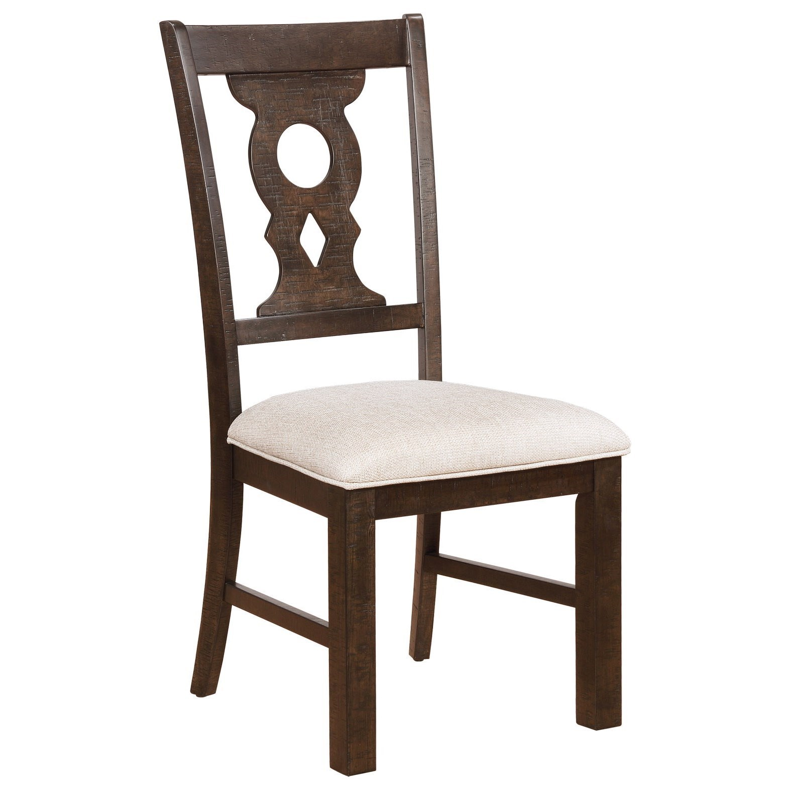 Avalon Furniture Lancaster Keyhole Splat Dining Chair With Upholstered Seat    Zaku0027s Fine Furniture   Dining Side Chairs