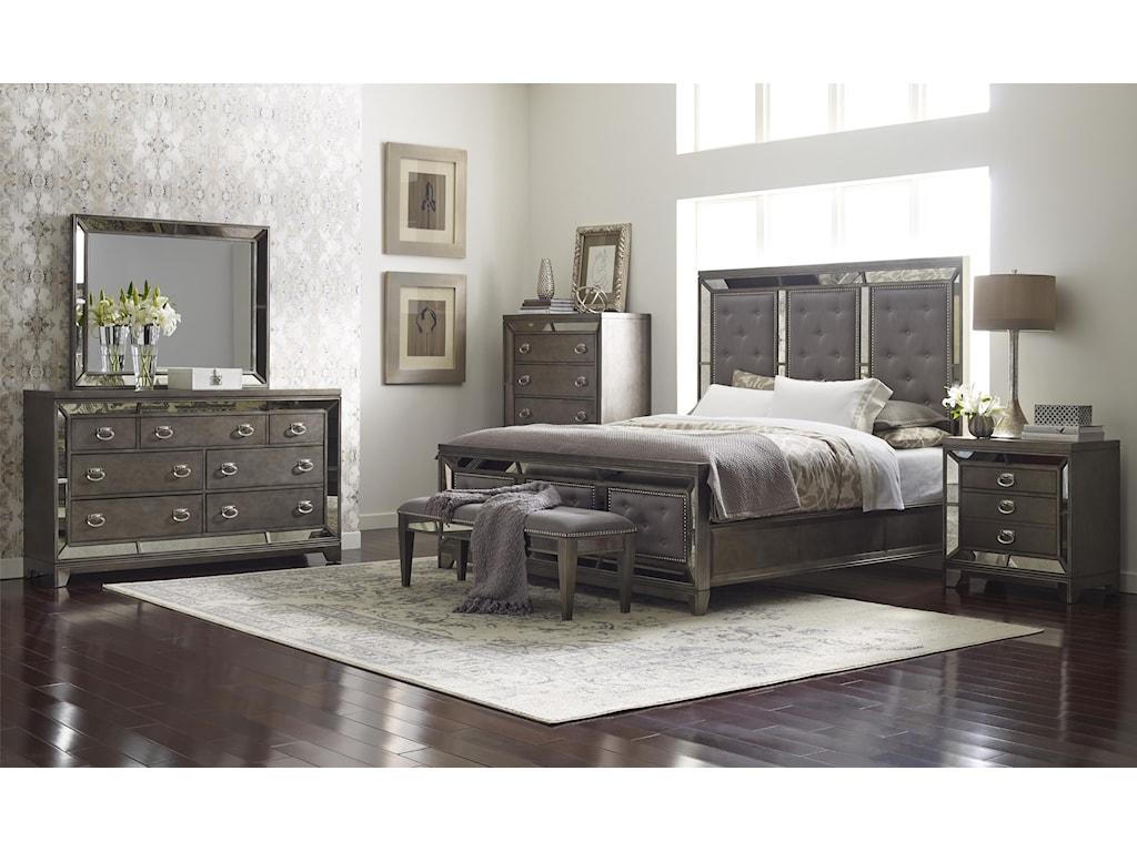 Avalon Furniture LenoxQueen Upholstered Bed