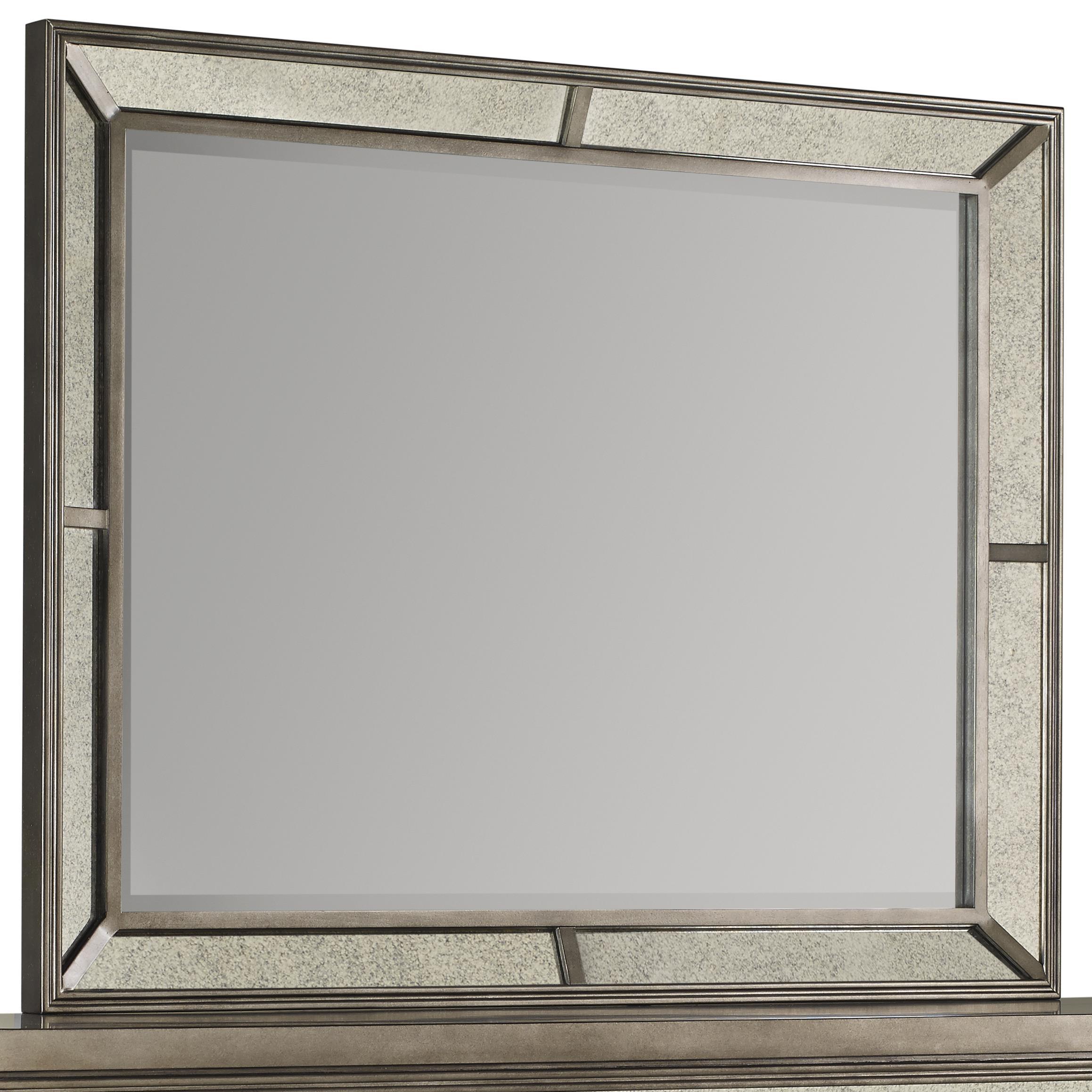Avalon Furniture Lenox Beveled Glass Mirror