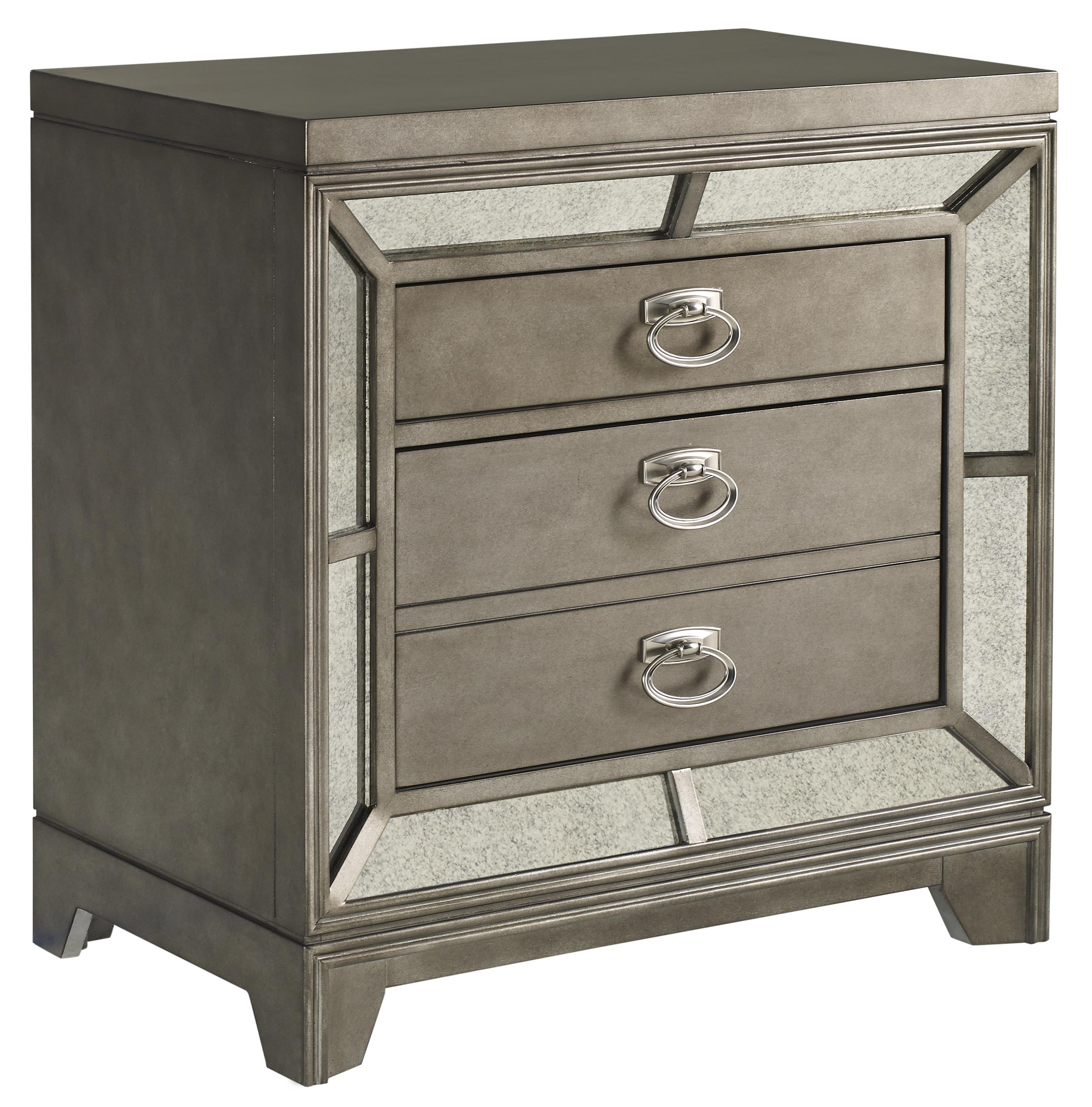 Superbe Avalon Furniture Lenox 2 Drawer Nightstand With Built In USB Charging