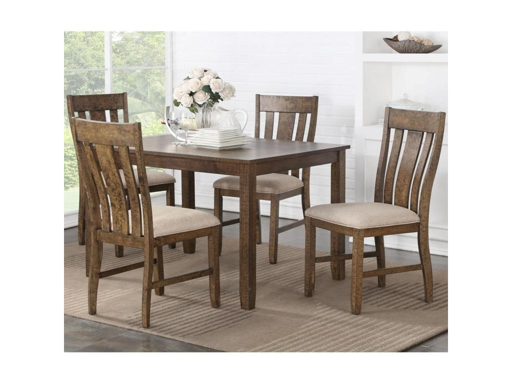 VFM Signature Mill Road5 Piece Table and Chair Set
