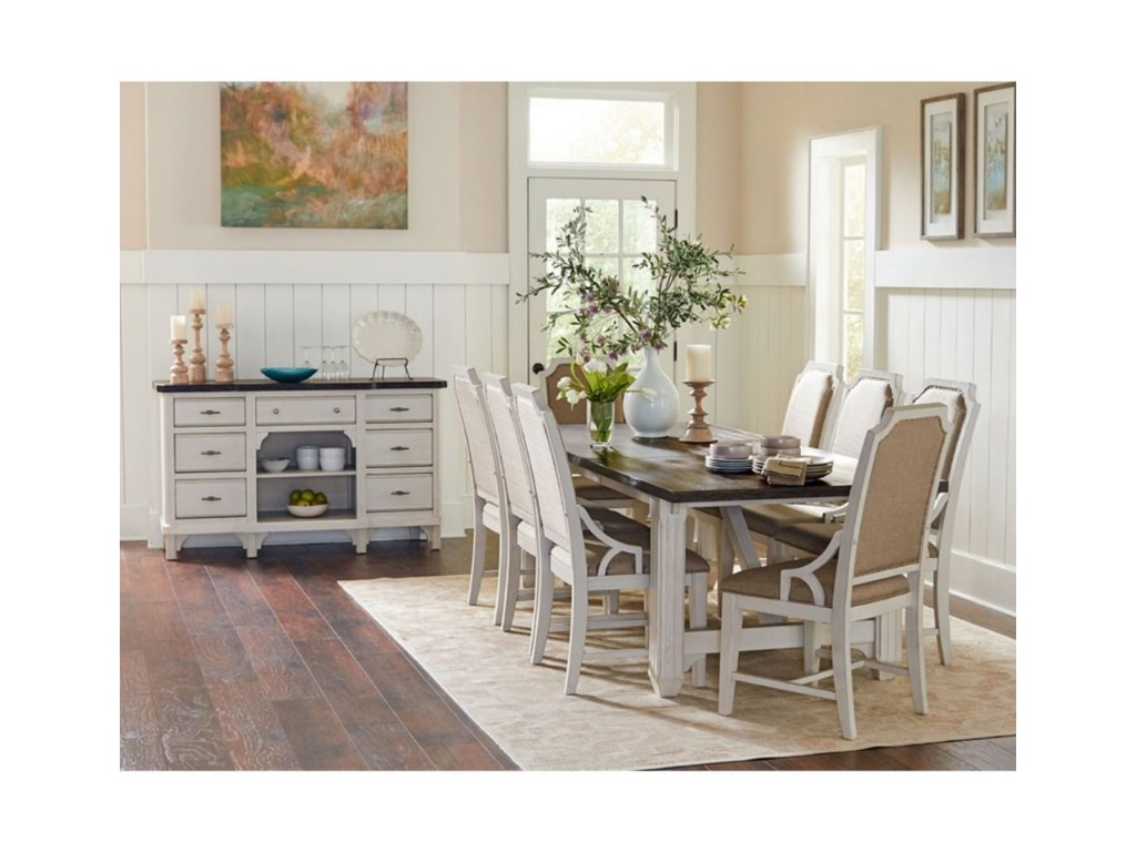 Avalon Furniture Mystic CayFormal Dining Group