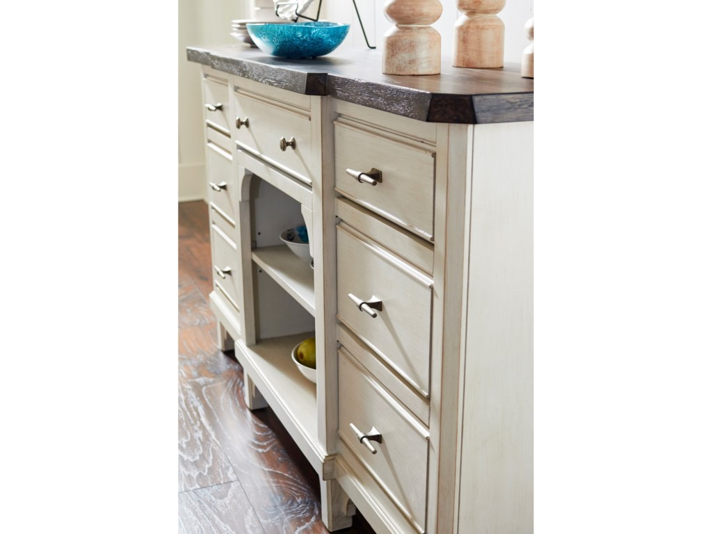 Avalon Furniture Mystic Cay7 Drawer Sideboard