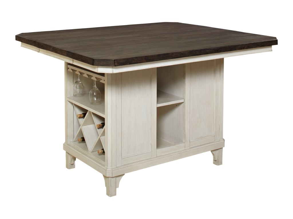 Pinnacle Mystic CayKitchen Island with 18