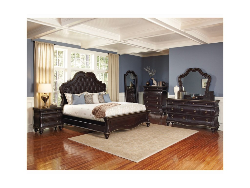 Avalon Furniture PalisadesQueen Bedroom Group