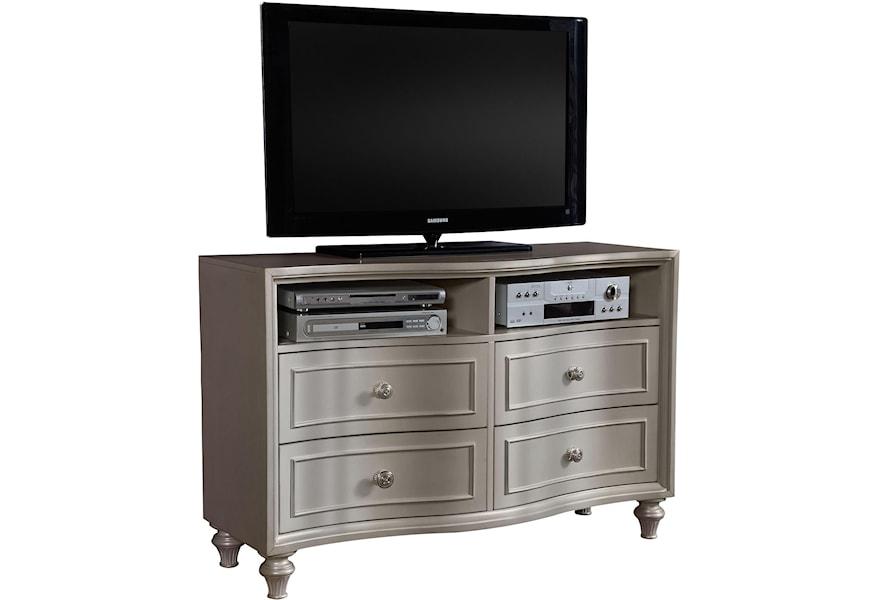 Avalon Furniture Regency Park Media Chest W 4 Drawers