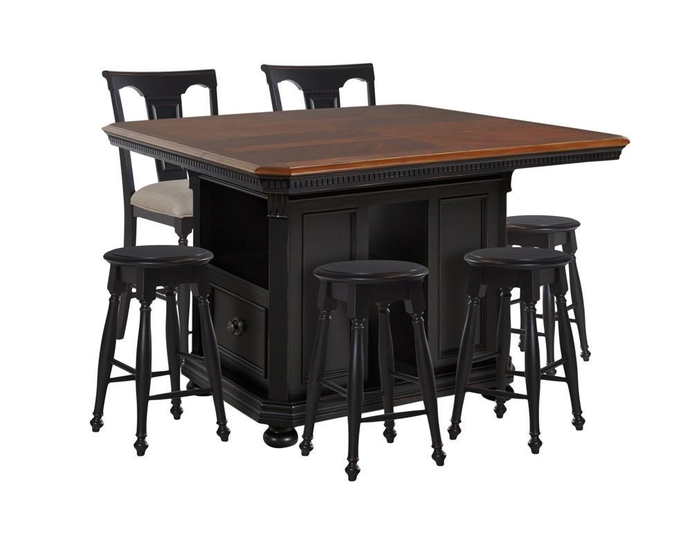 Kitchen Island Table With 4 Chairs