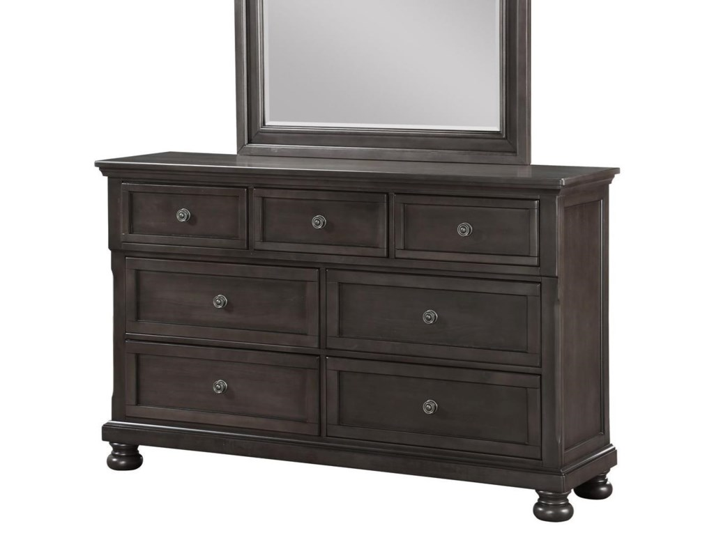 Avalon Furniture Sophia B01061dresser W Hidden Drawer