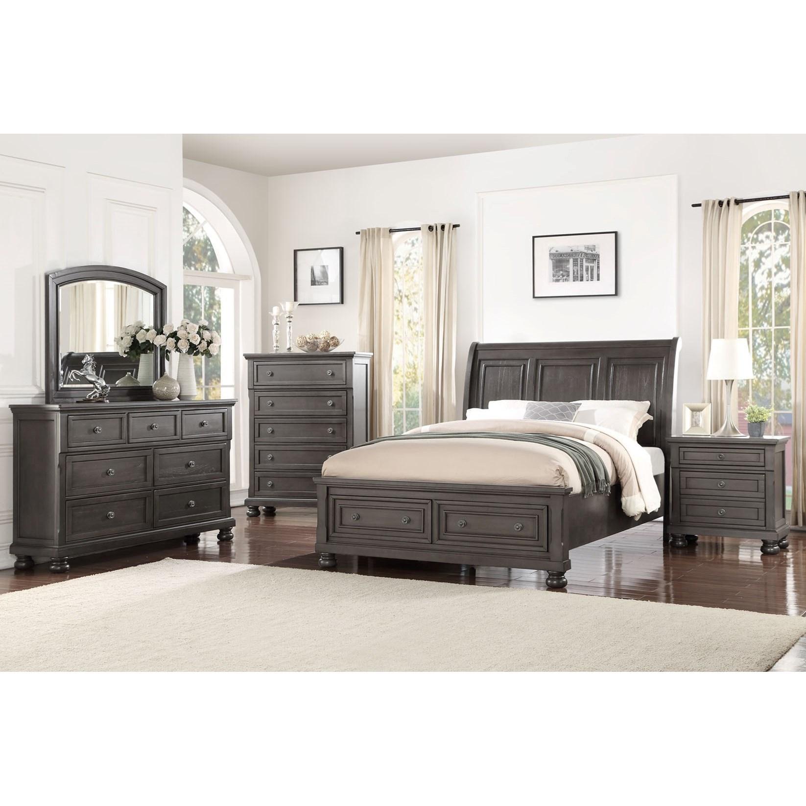 Charmant Avalon Furniture Sophia B01061King Bedroom Group