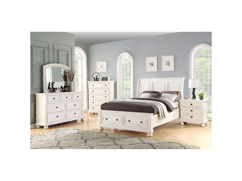Avalon Furniture SavannahDresser + Mirror Set