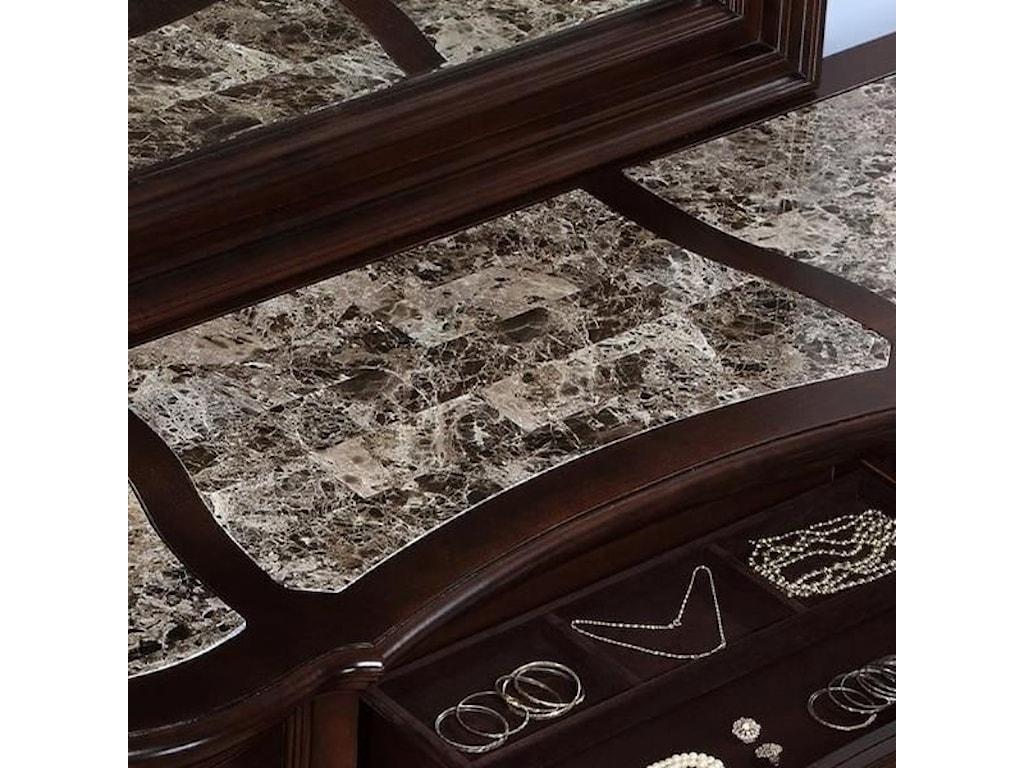 Avalon Furniture Lavon LakeDresser and Mirror