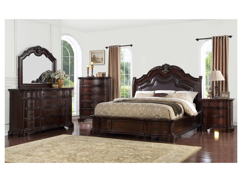 Avalon Furniture St LouisQueen Bedroom Group
