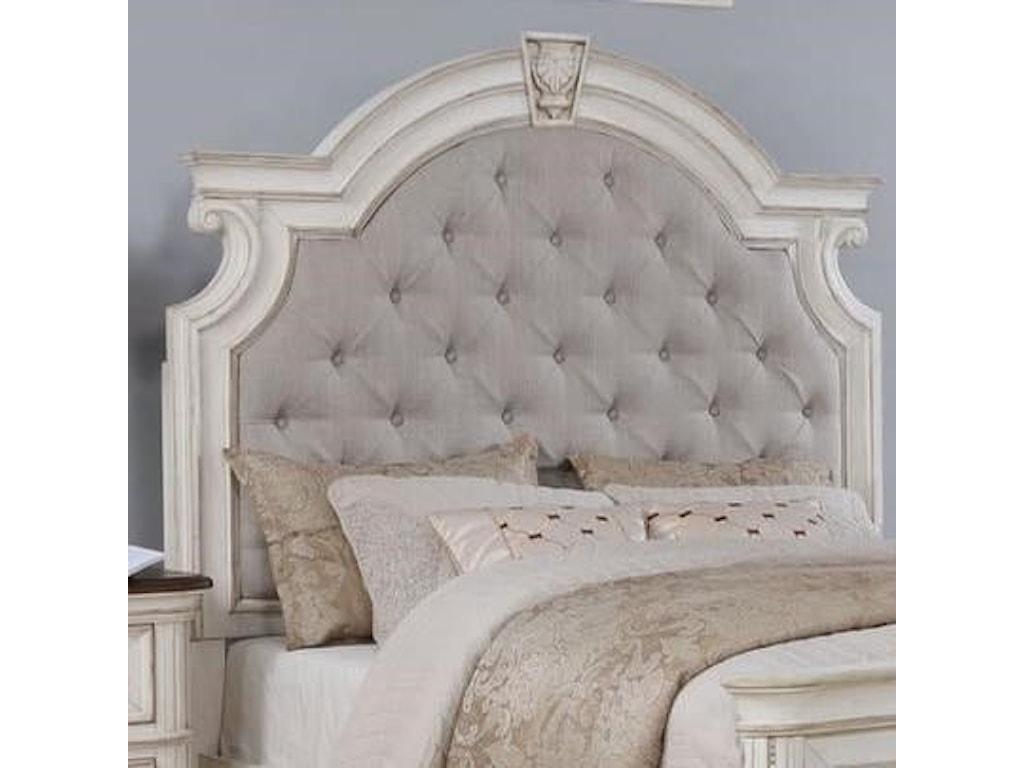 Avalon Furniture West ChesterKing Upholstered Bed