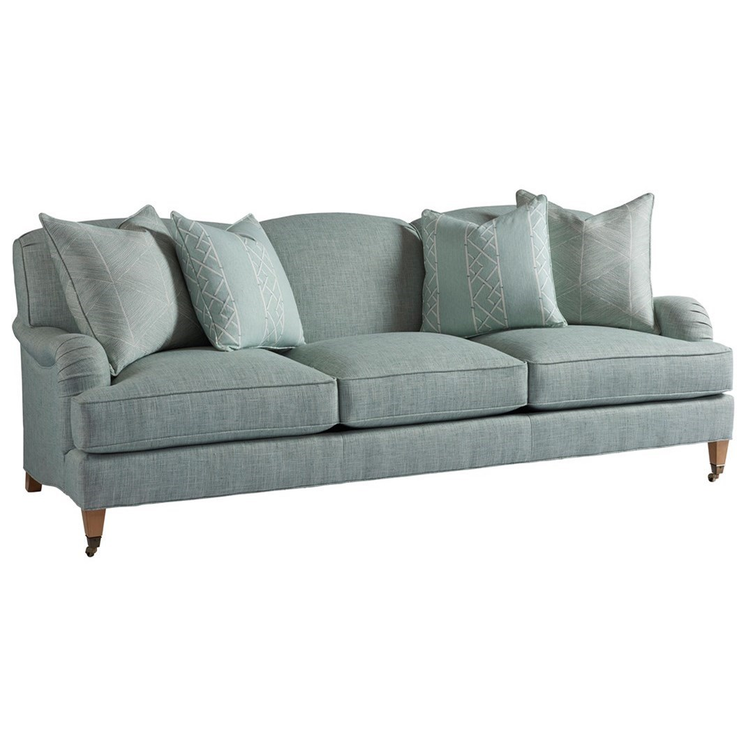 Barclay Butera Barclay Butera UpholsterySydney Sofa With Brass Casters ...