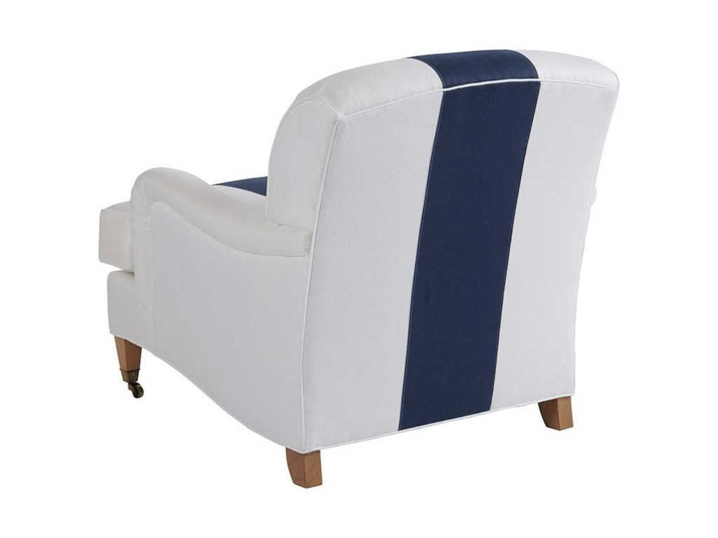 Barclay Butera Barclay Butera UpholsterySydney Chair With Brass Caster