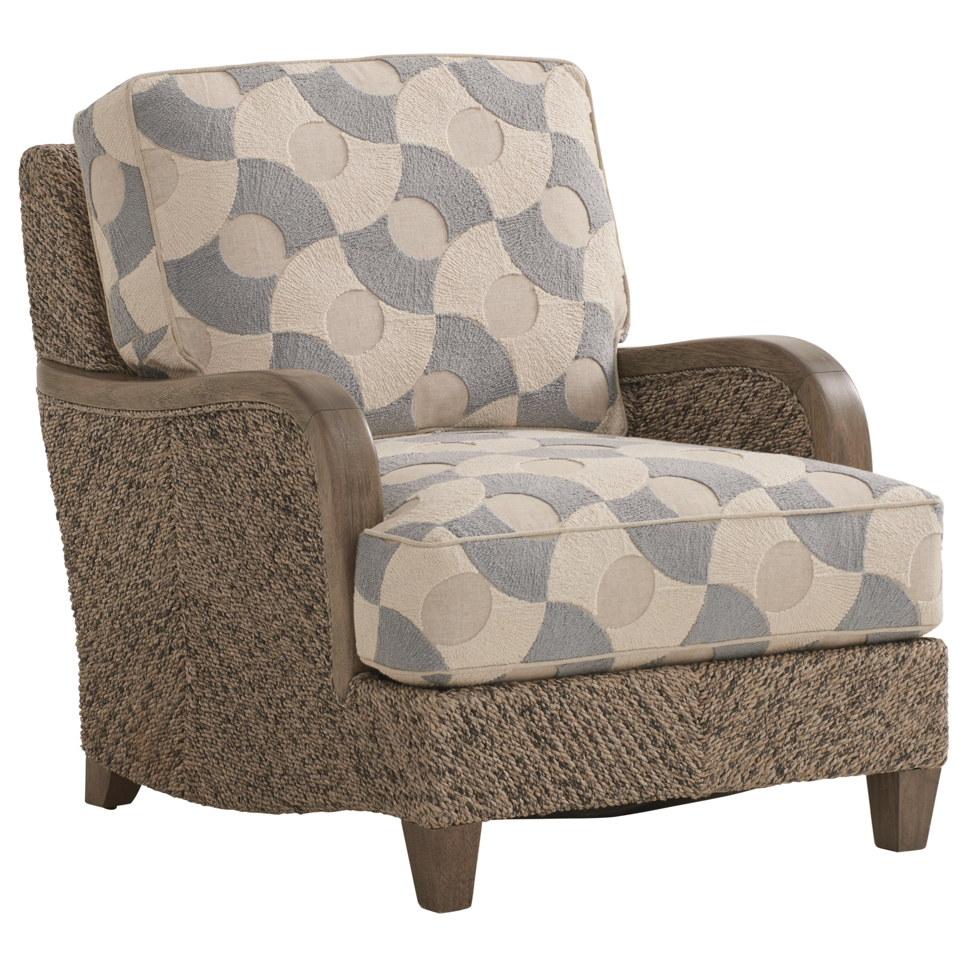 Thayer Chair with Woven Frame