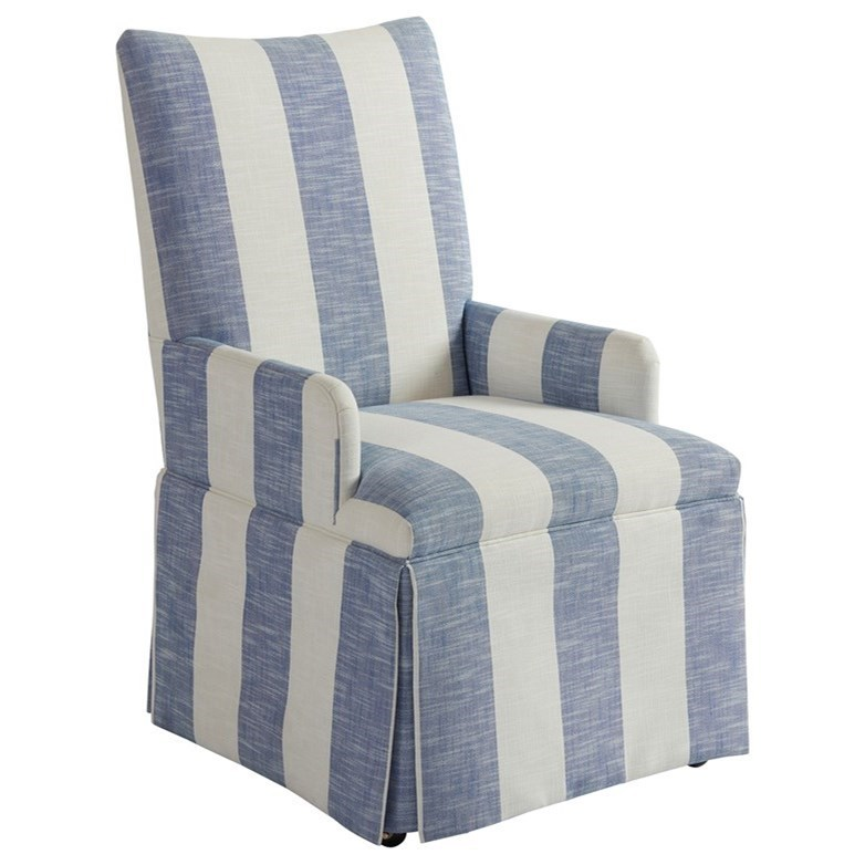 Barclay Butera Barclay Butera UpholsteryMackenzie Skirted Dining Arm Chair  ...