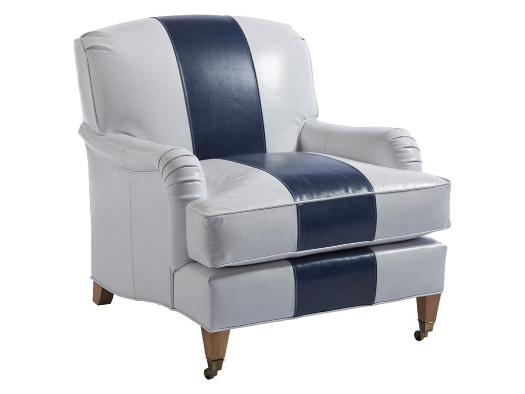 Barclay Butera Barclay Butera UpholsterySydney Chair With Brass Caster