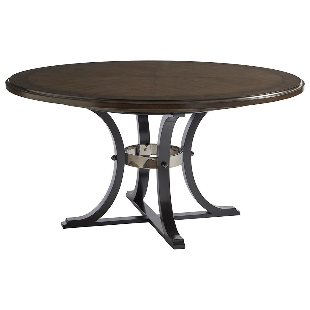 Barclay Butera Brentwood Layton 60 Inch Round Dining Table